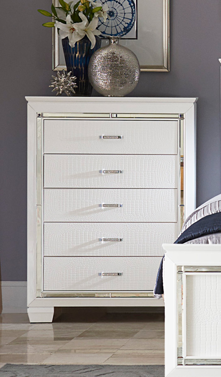 Homelegance Allura Chest - White