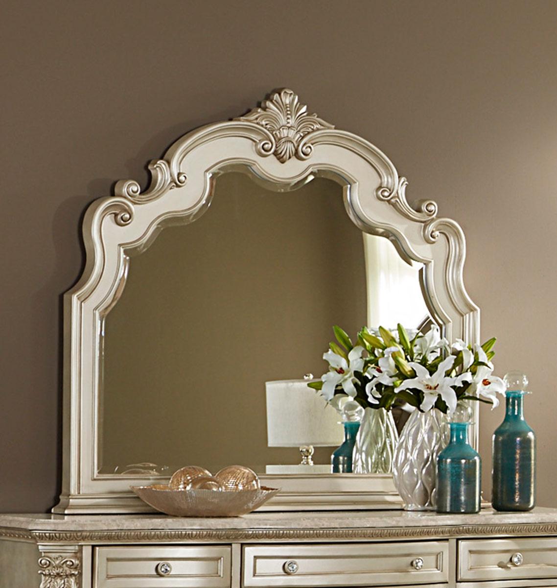 Homelegance Antoinetta Mirror - Champagne