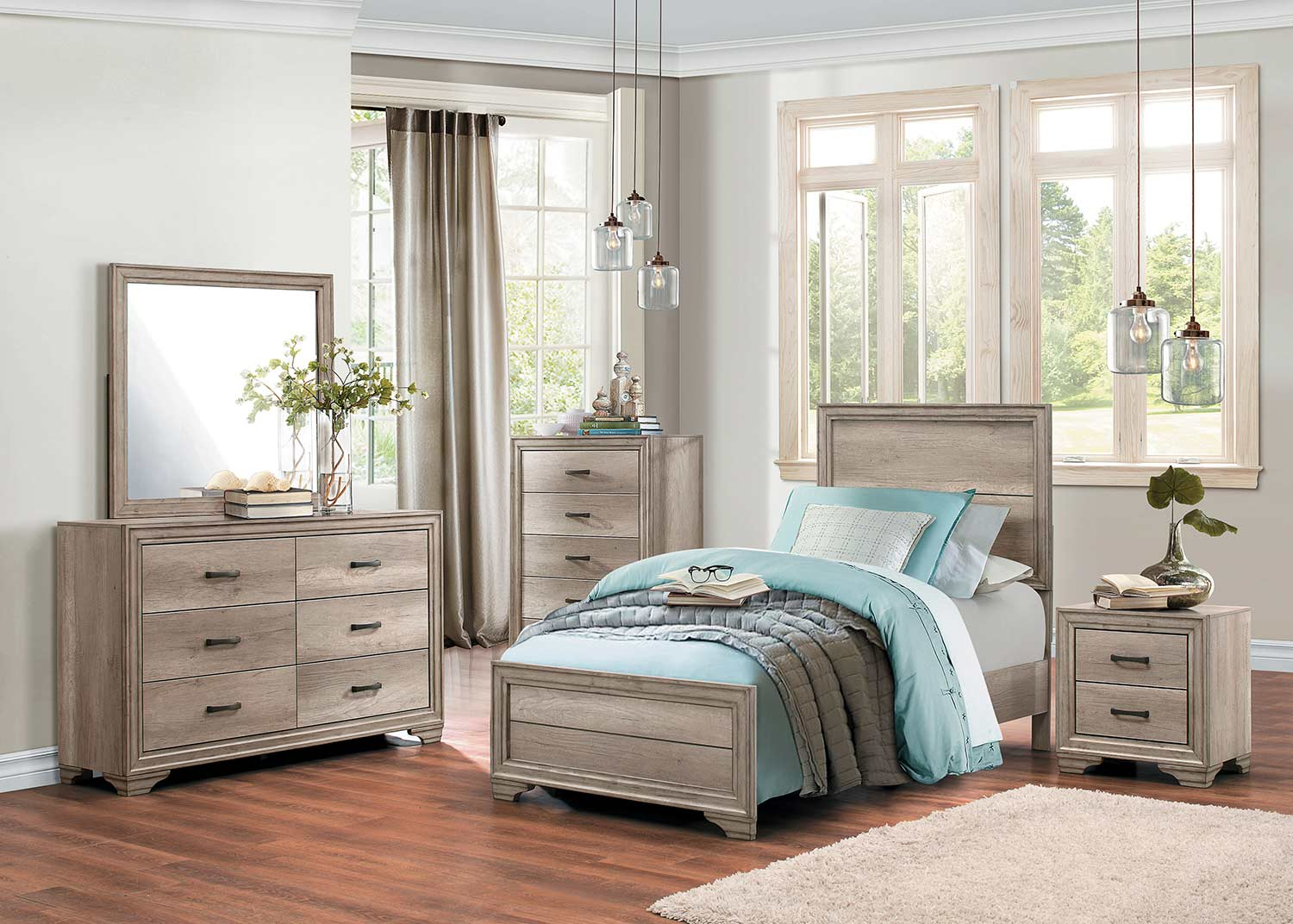 Homelegance Lonan Bedroom Set