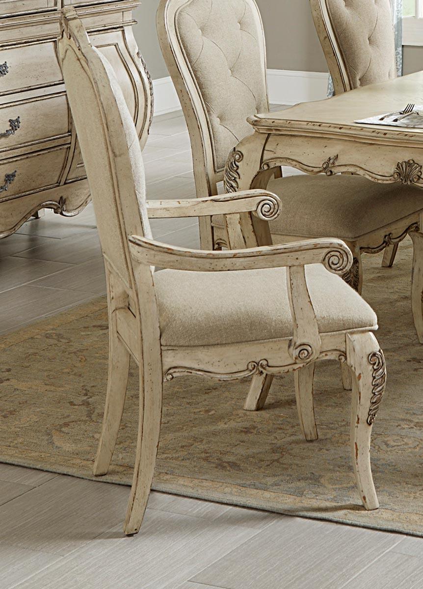 Homelegance Elsmere Arm Chair - Antique Grey