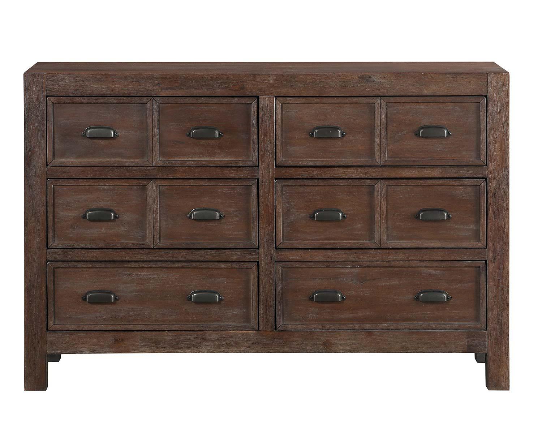 Homelegance Wrangell Dresser - Medium Cherry
