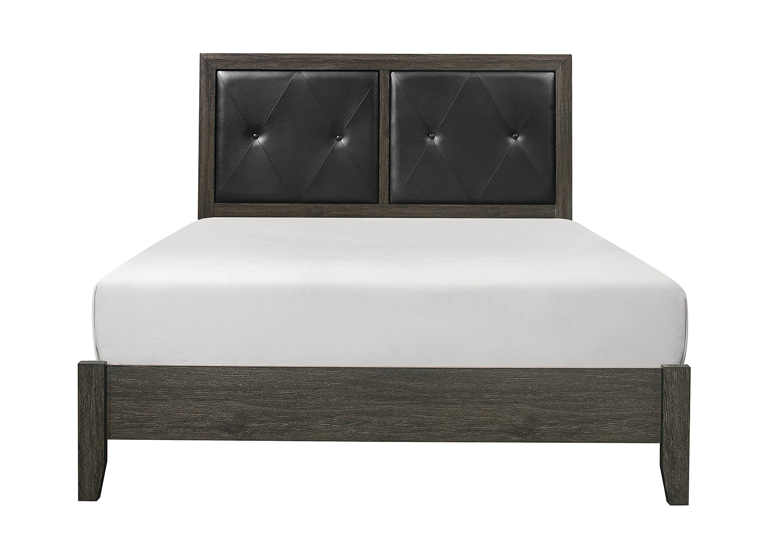 Homelegance Edina Bed - Brown-Gray