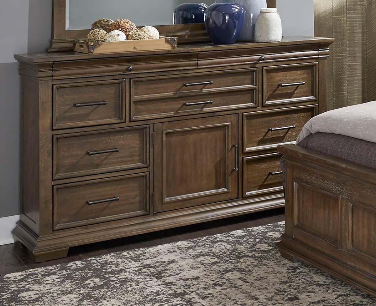 Homelegance Narcine Dresser with Marble Insert