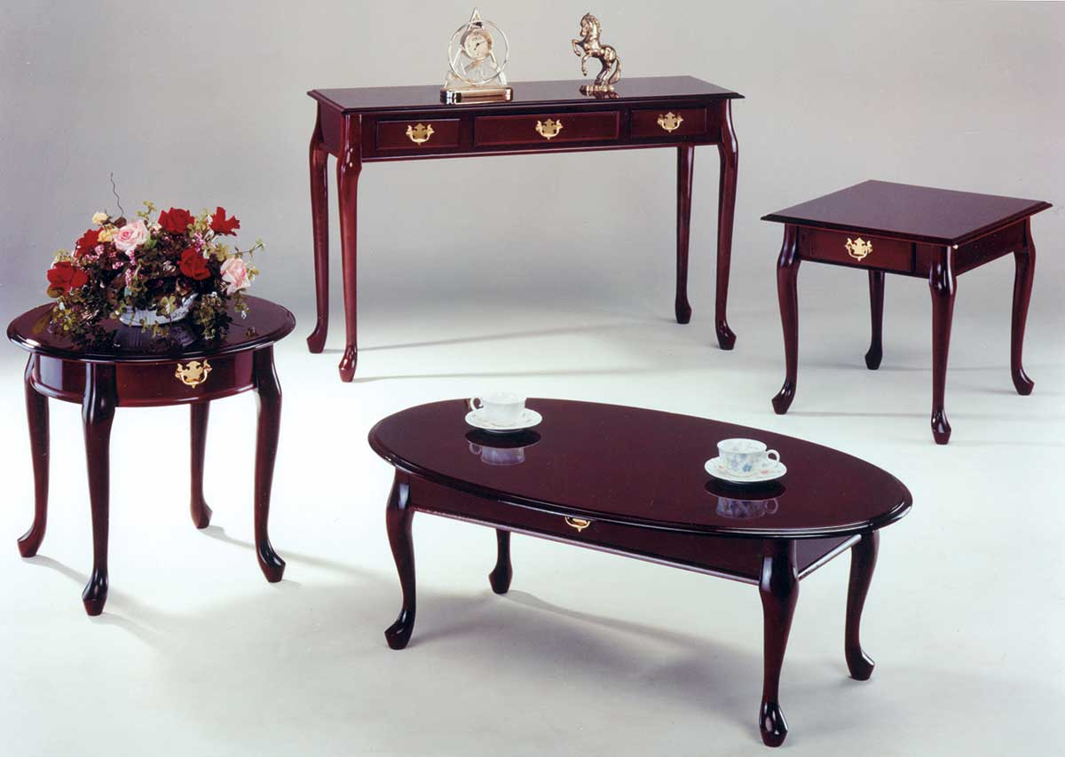 Superb Homelegance Queen Anne Cocktail Table