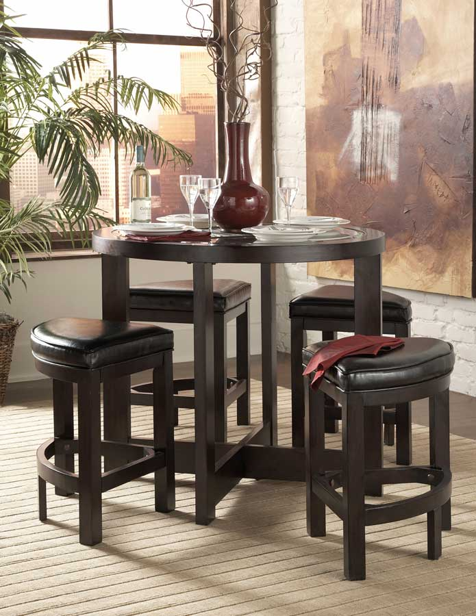 Beau Homelegance Brussel 5 Pc Pub Dining Set