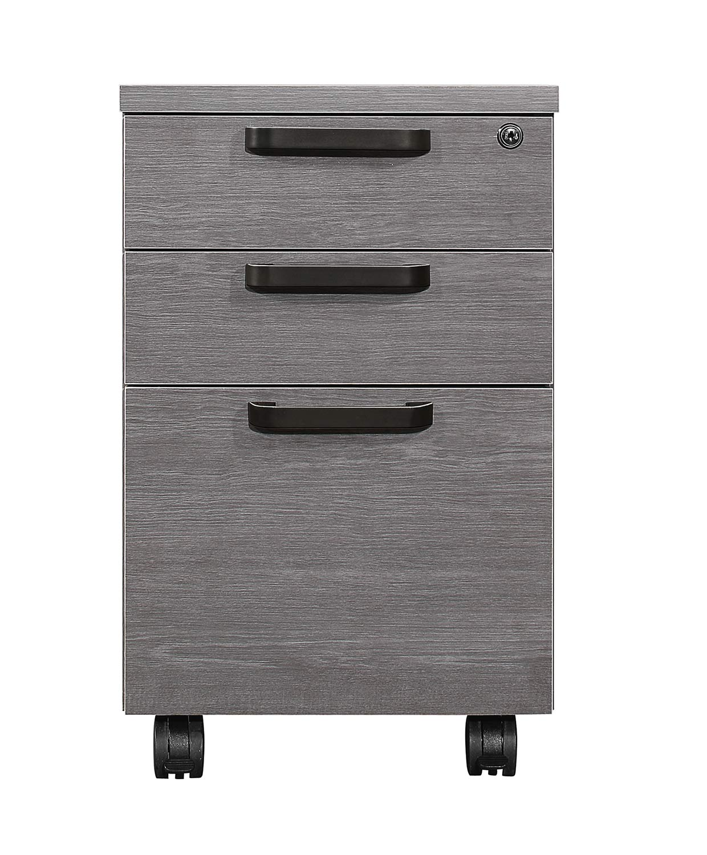 Homelegance Dogue File Cabinet - Gunmetal - Gray
