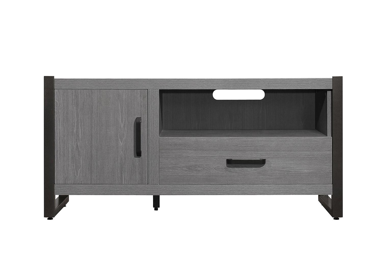Homelegance Dogue 51-inch TV Stand - Gunmetal - Gray