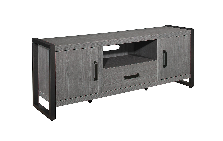 Homelegance Dogue 63-inch TV Stand - Gunmetal - Gray