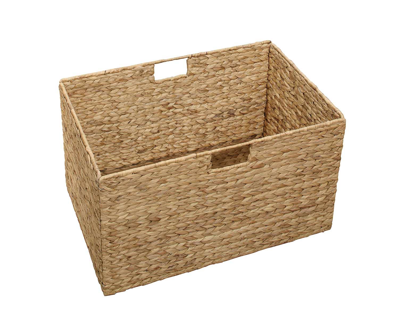 Homelegance Dogue Basket for Bookcase - Gunmetal - Gray