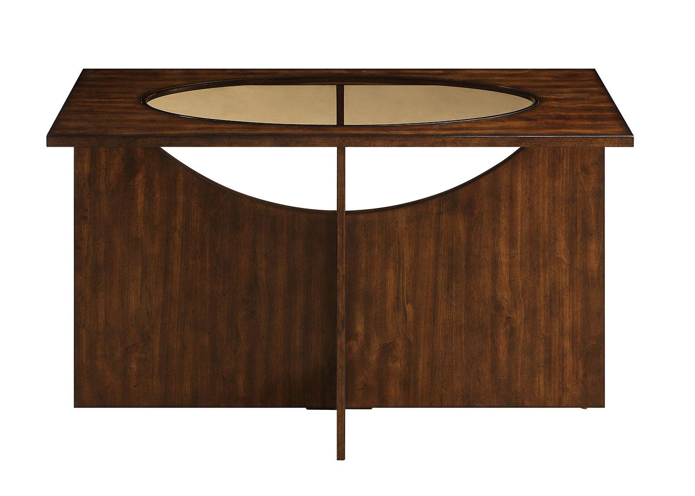 Homelegance Akita Sofa Table - Cherry