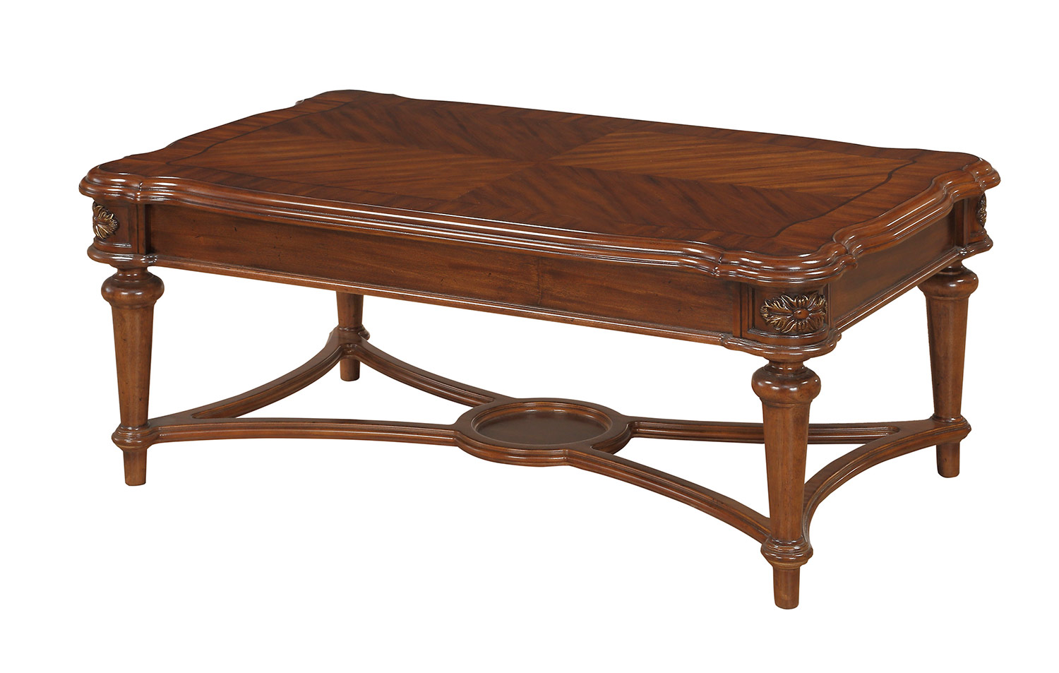 Homelegance Barbary Cocktail/Coffee Table - Cherry