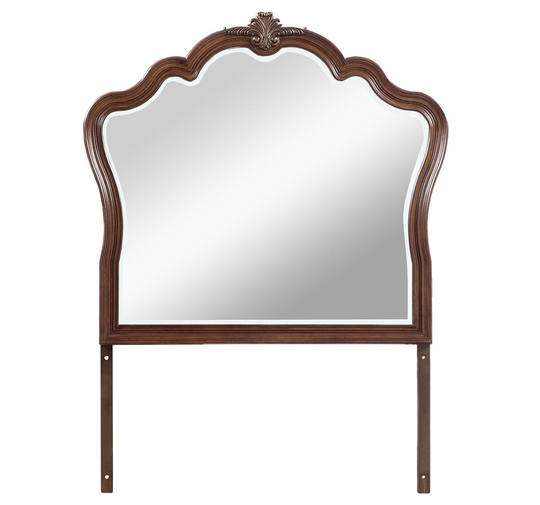 Homelegance Barbary Mirror - Traditional Cherry