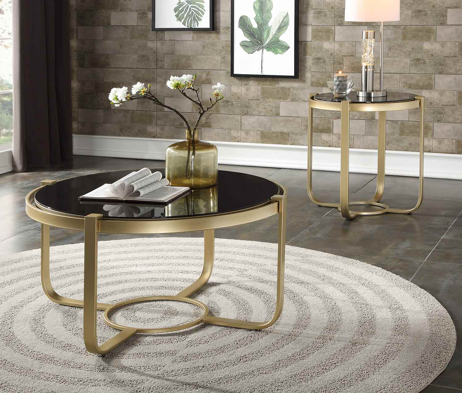 Homelegance Caracal Collection - Gold