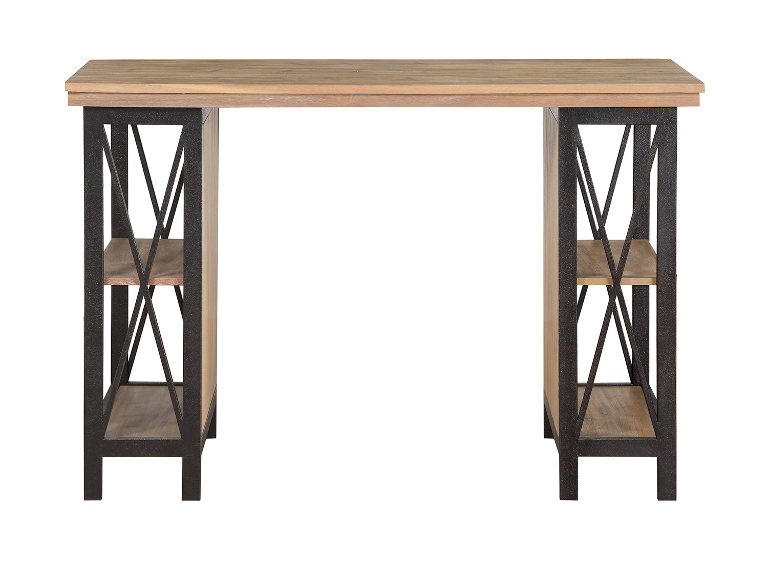 Homelegance Penpoint Counter Height Writing Desk - Rustic