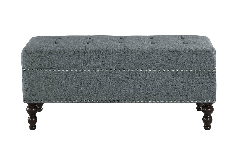 Homelegance Hamden Bench - Dark Gray