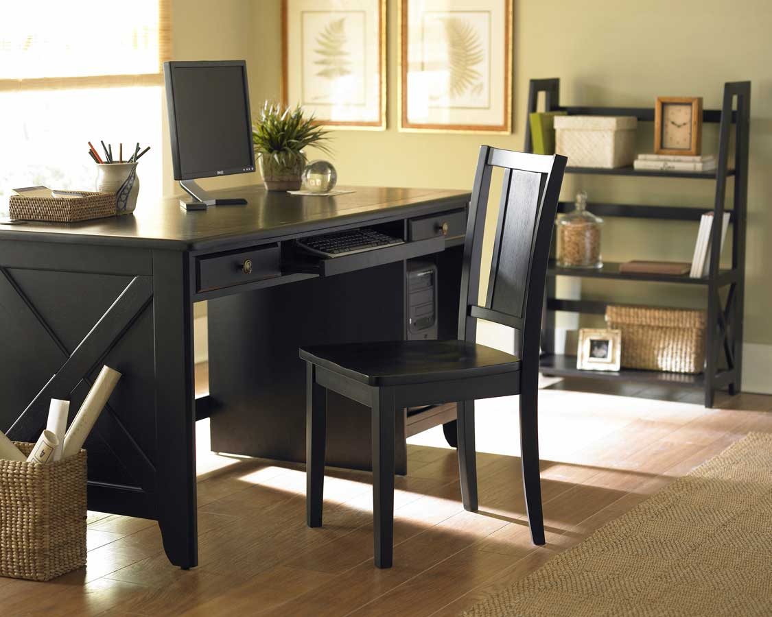Homelegance britanica home office collection h481bk for Small home office furniture ideas
