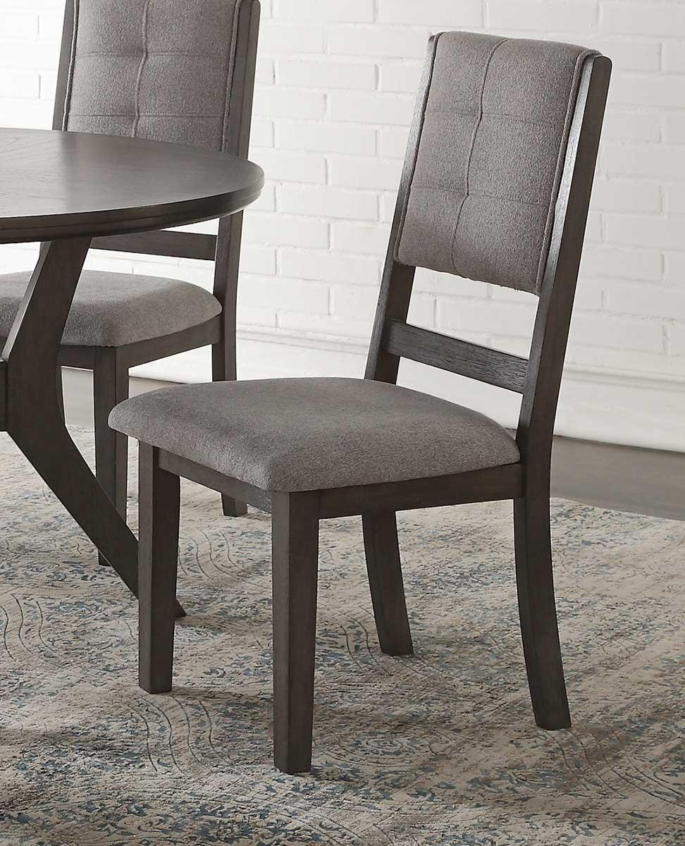 Homelegance Nisky Side Chair - Gray
