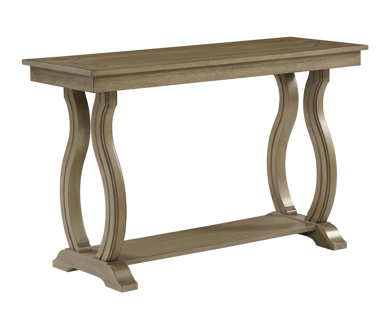 Homelegance Vermillion Sofa Table - Bisque