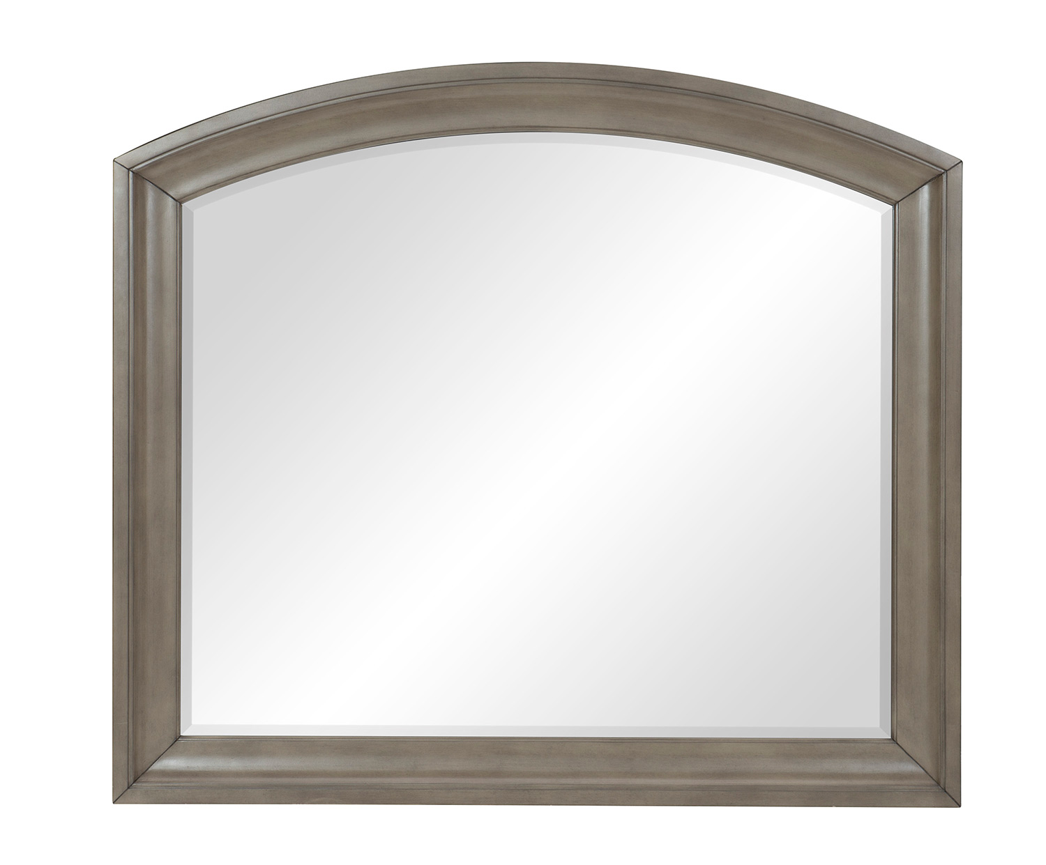 Homelegance Vermillion Mirror - Bisque Finish with Oak Veneer