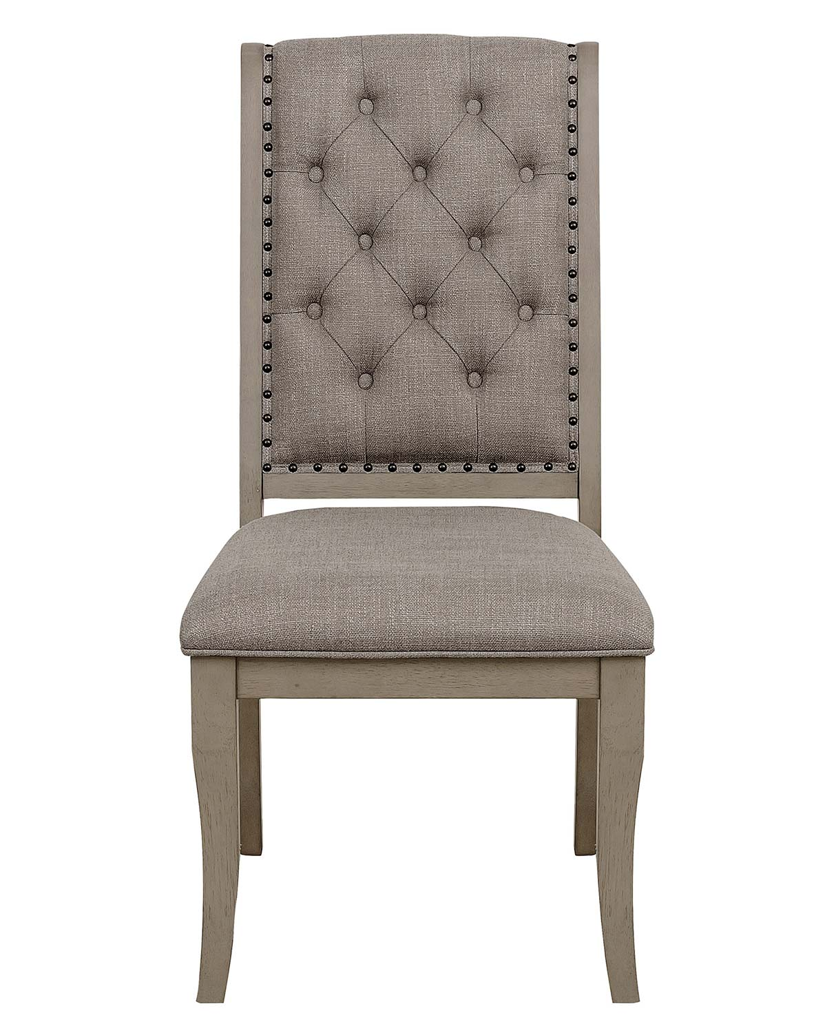 Homelegance Vermillion Side Chair - Bisque