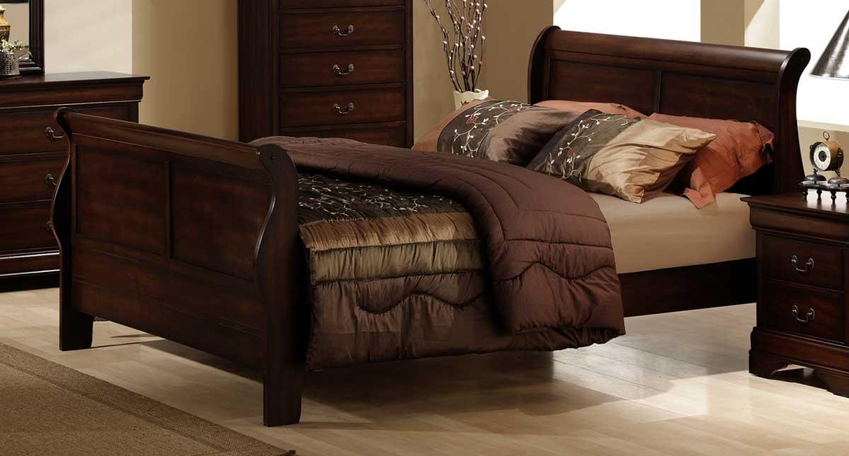 Homelegance Chateau Brown Bed