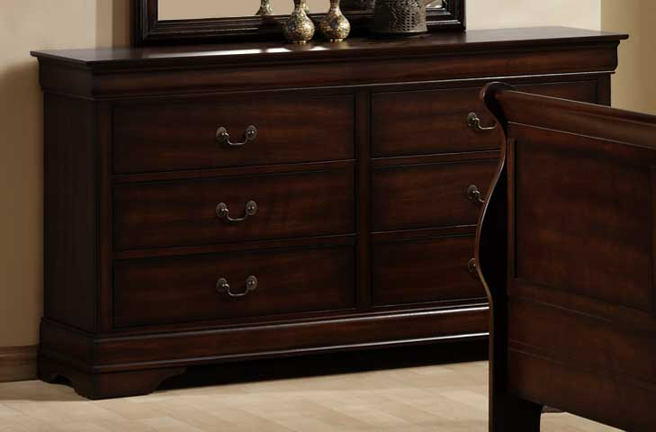 Homelegance Cau Brown Dresser