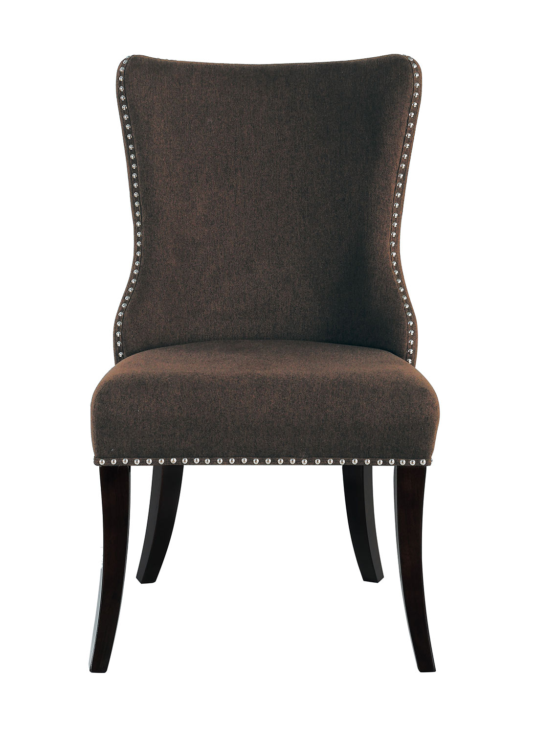 Homelegance Salema Side Chair - Chocolate - Dark Brown