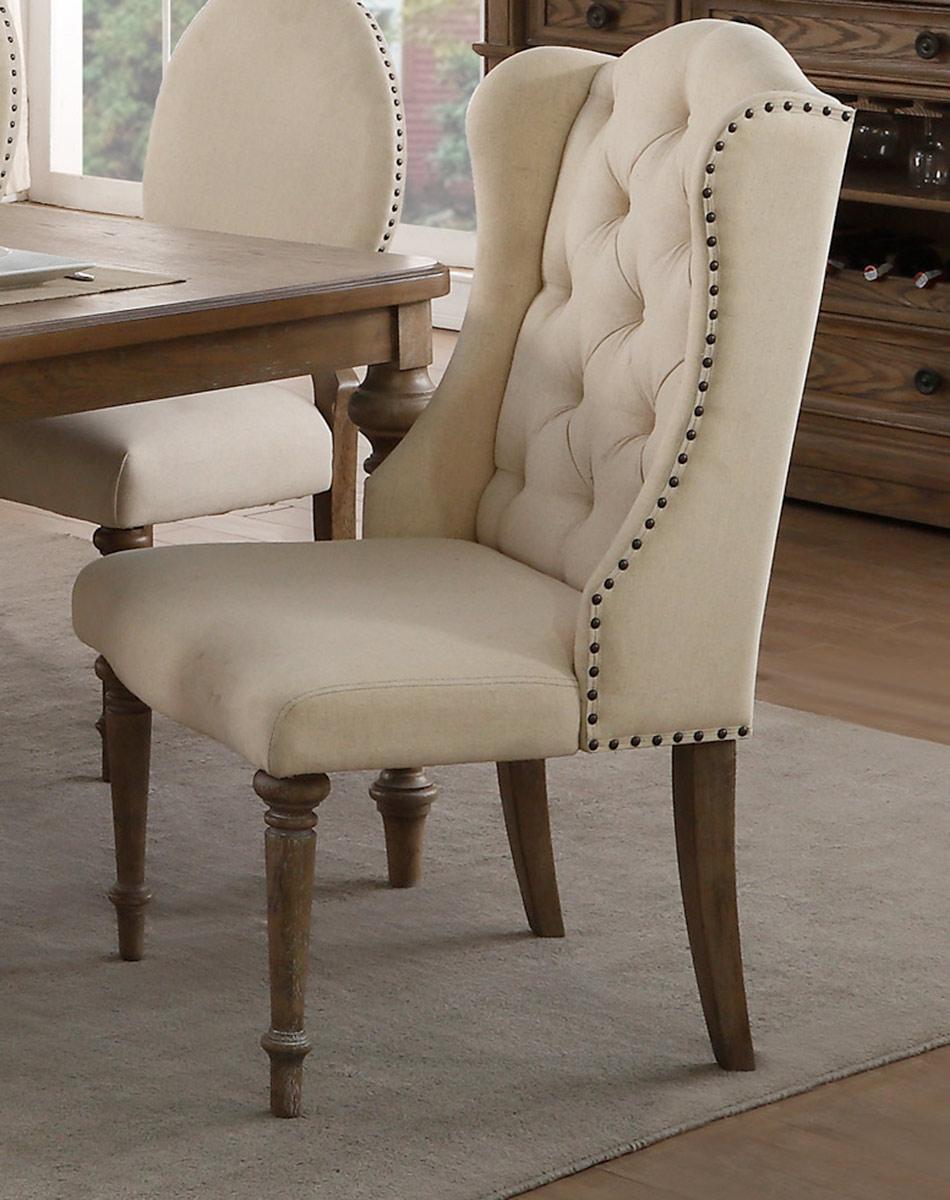 Homelegance Avignon Arm Chair - Natural Taupe
