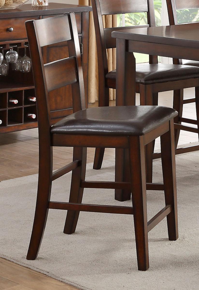 Homelegance Mantello Counter Height Chair - Cherry