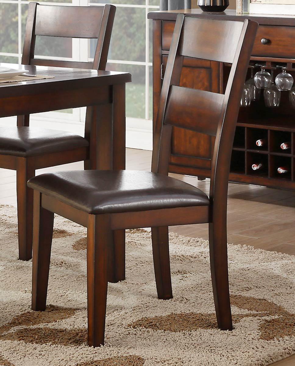 Homelegance Mantello Side Chair - Cherry
