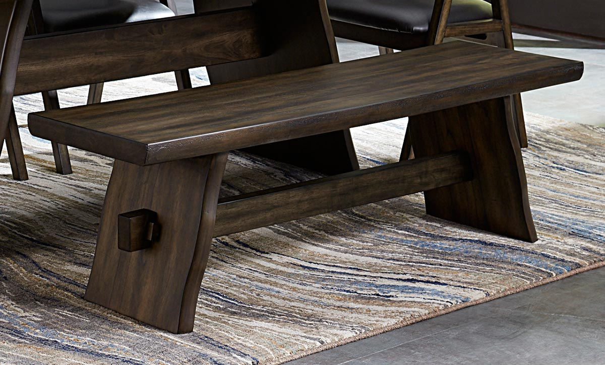 Homelegance Cabezon Bench - Rustic Brown