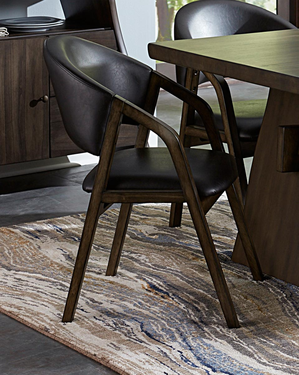 Homelegance Cabezon Arm Chair - Rustic Brown