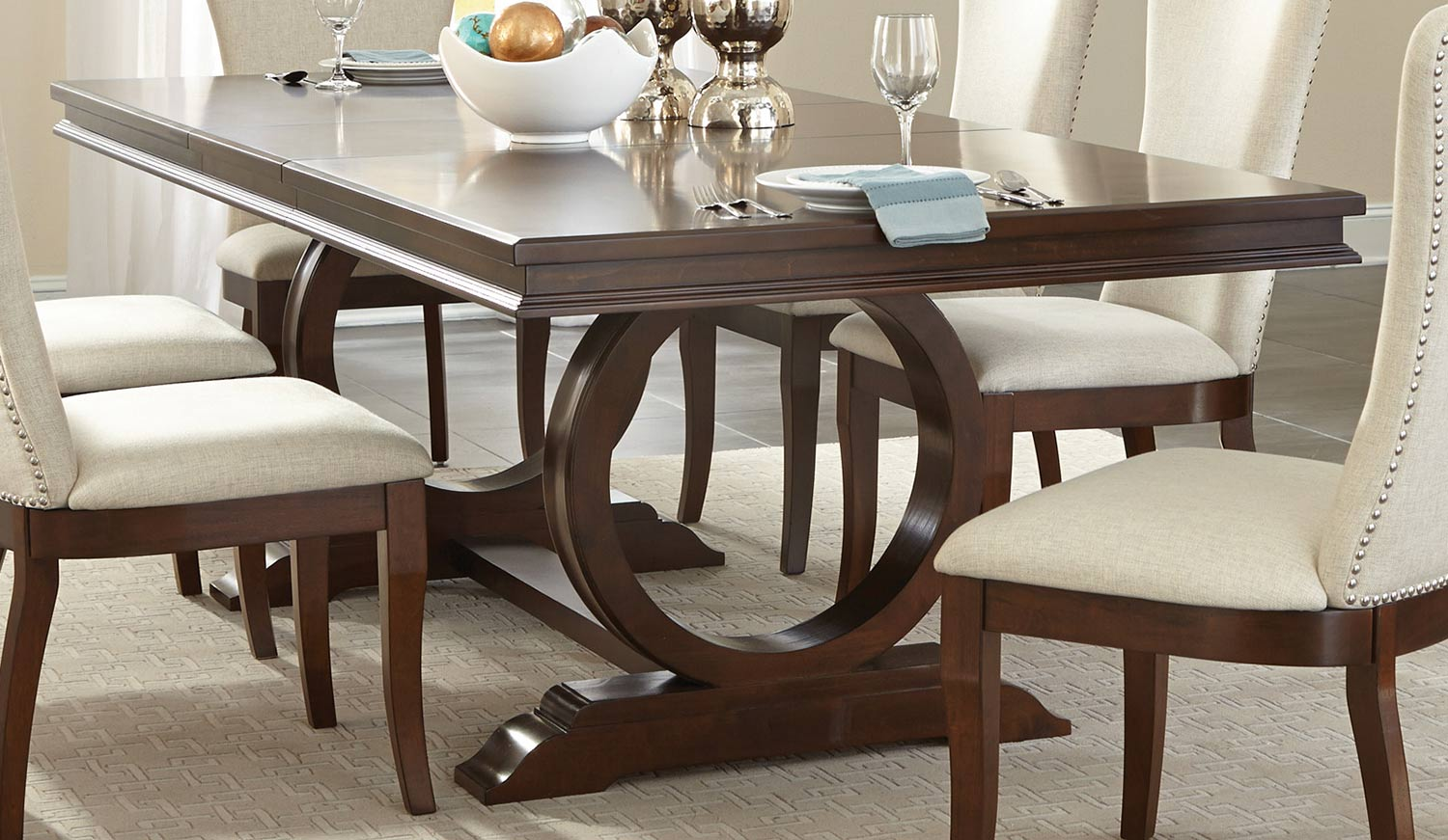 Homelegance Oratorio Dining Table - Cherry