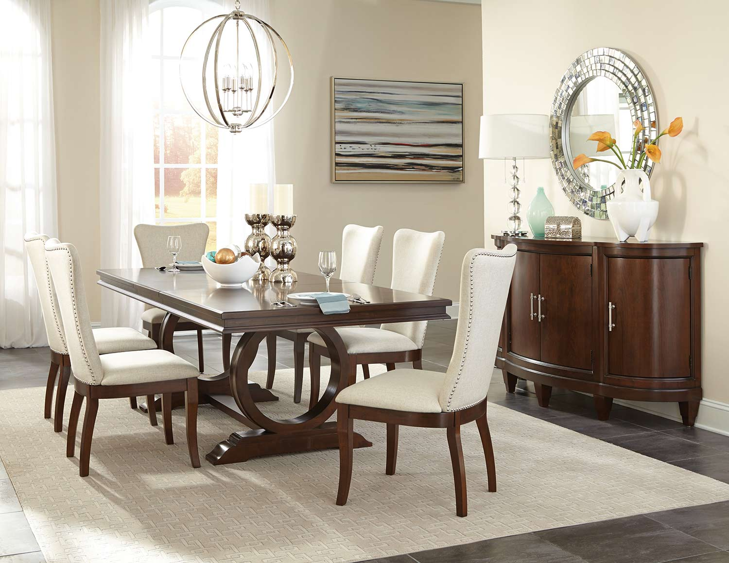 Homelegance Oratorio Dining Set - Cherry