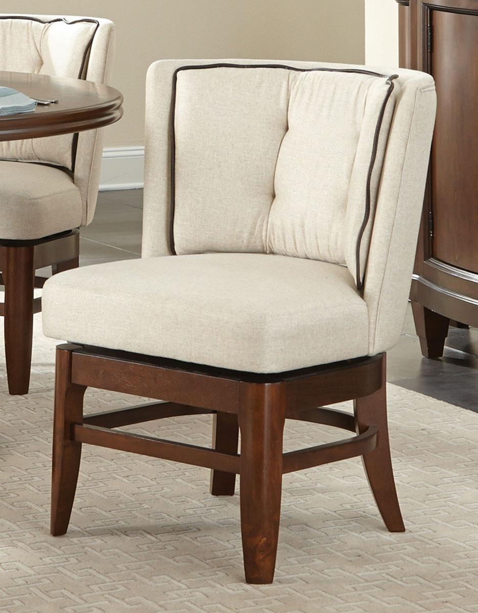 Homelegance Oratorio Swivel Chair - Cherry