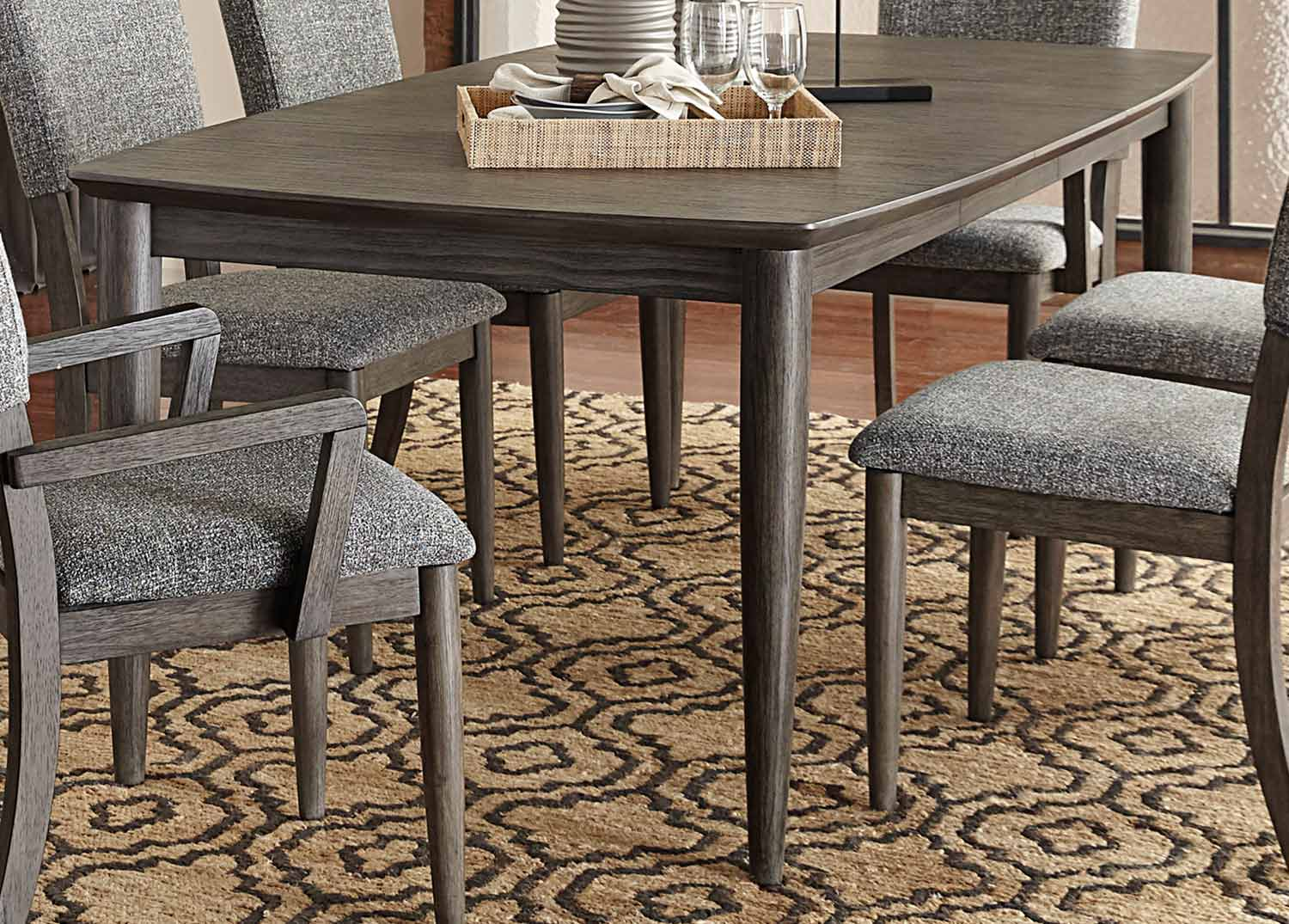 Homelegance Roux Dining Table - Rustic or Grey