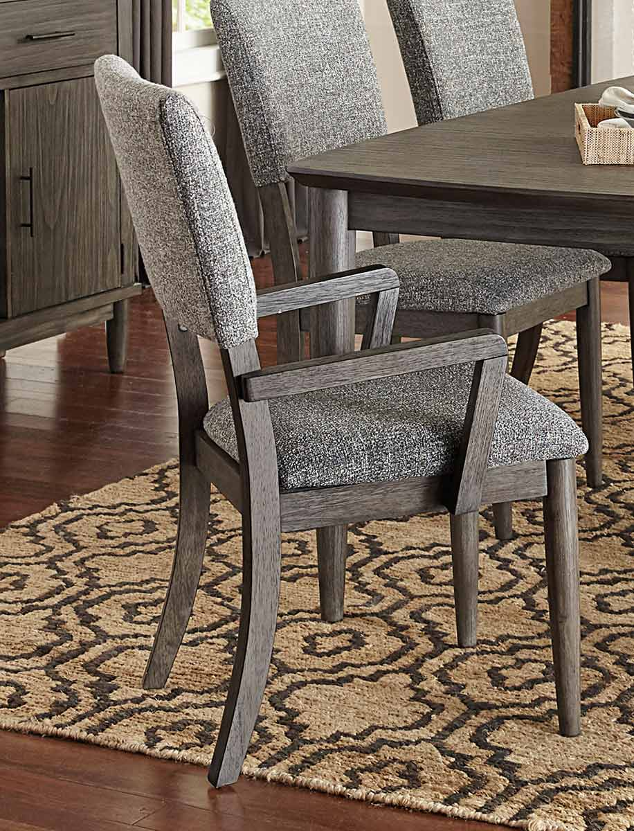 Homelegance Roux Arm Chair - Rustic or Grey