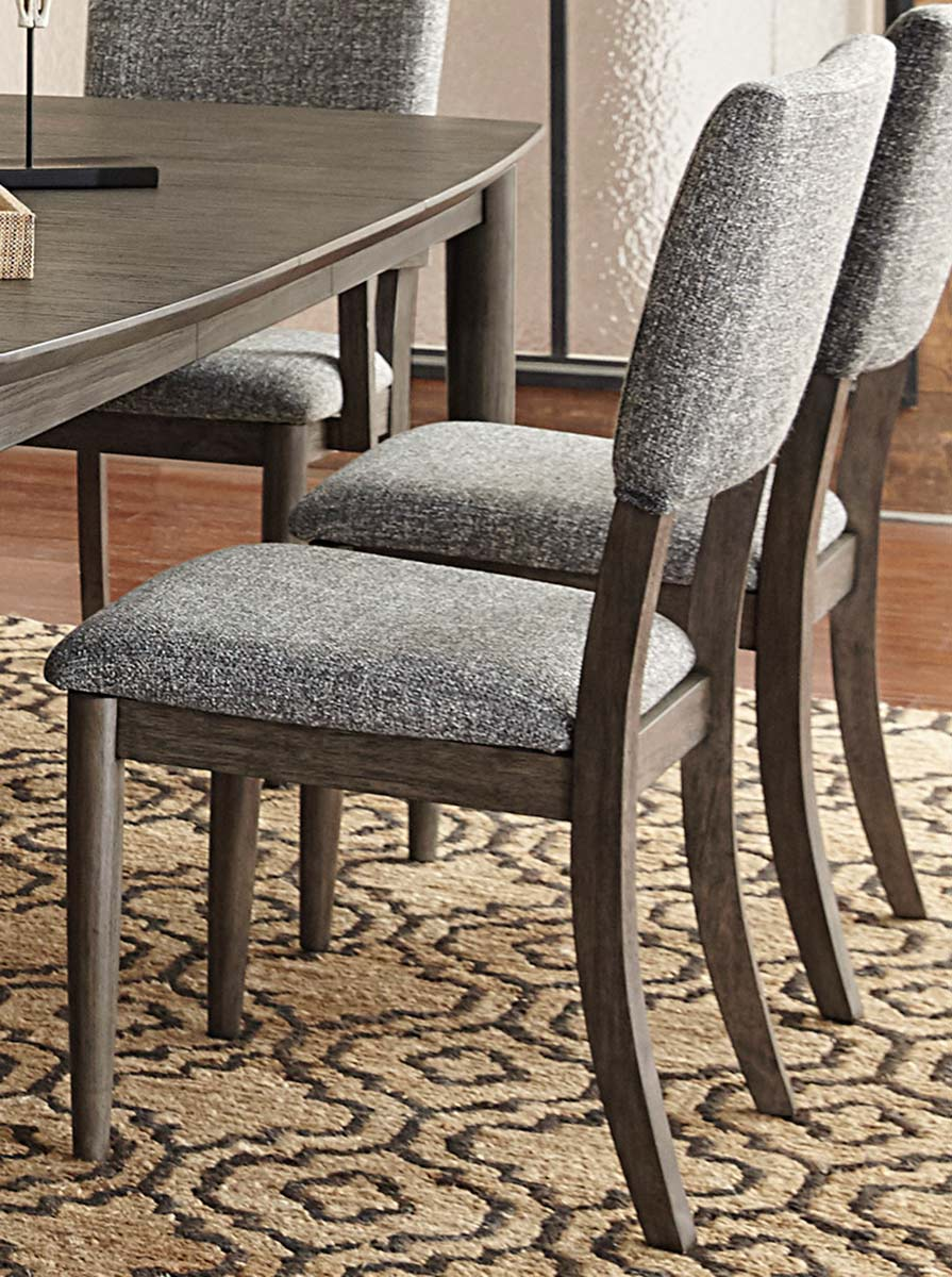 Homelegance Roux Side Chair - Rustic or Grey