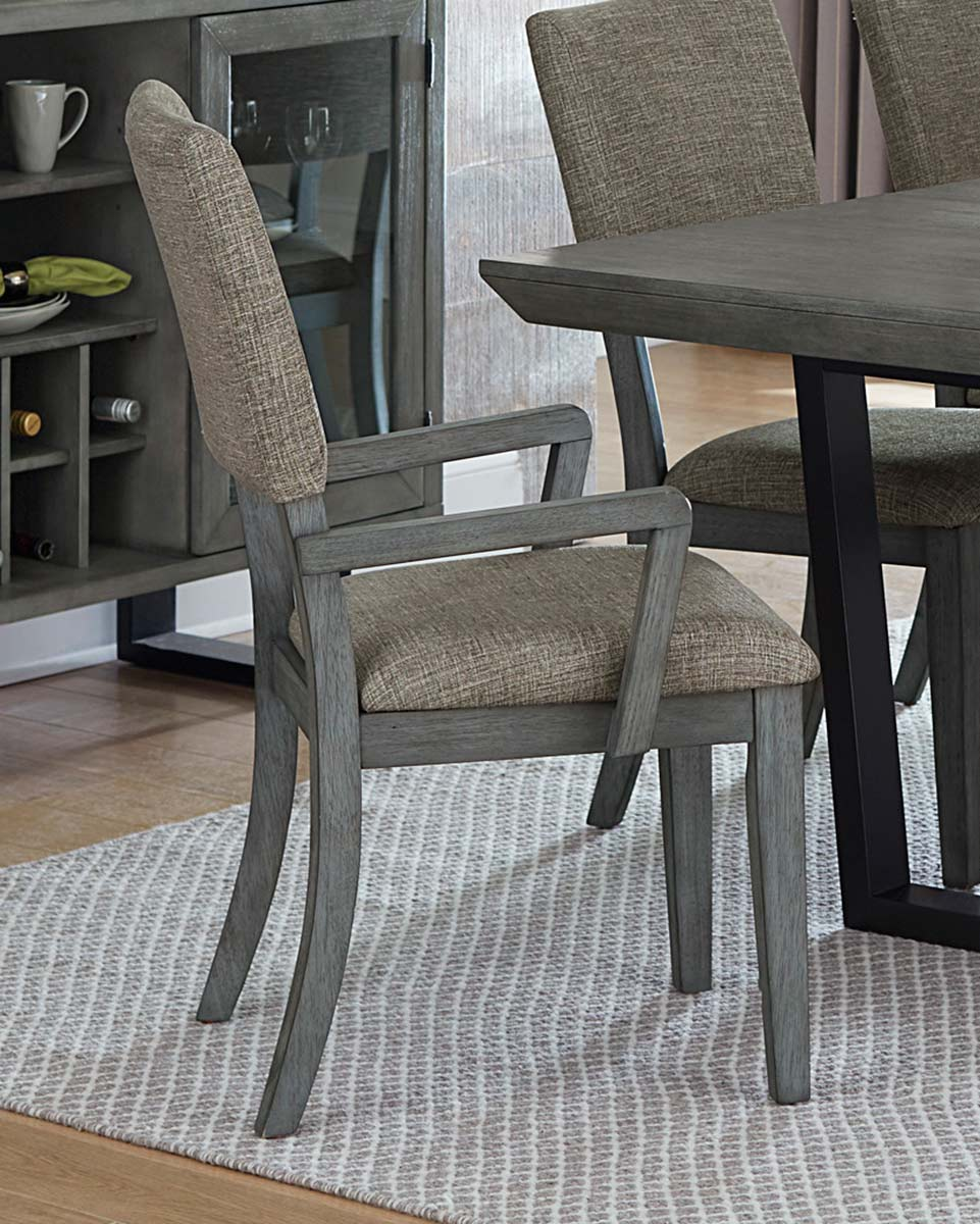 Homelegance Avenhorn Arm Chair - Gray