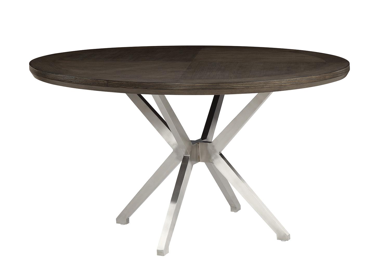 Homelegance Ibiza Round Dining Table - Light Oak