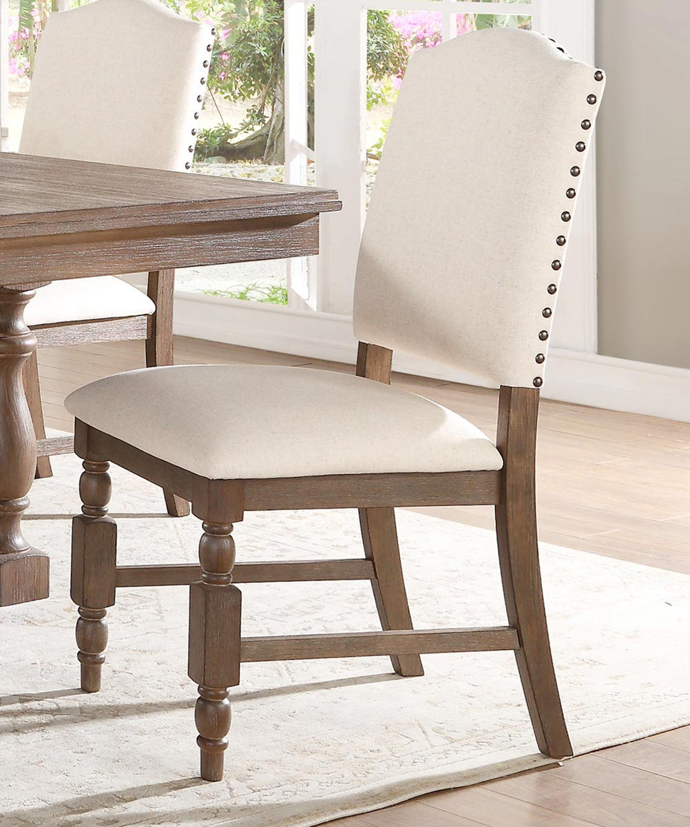 Homelegance Chartreaux Side Chair - Natural Taupe