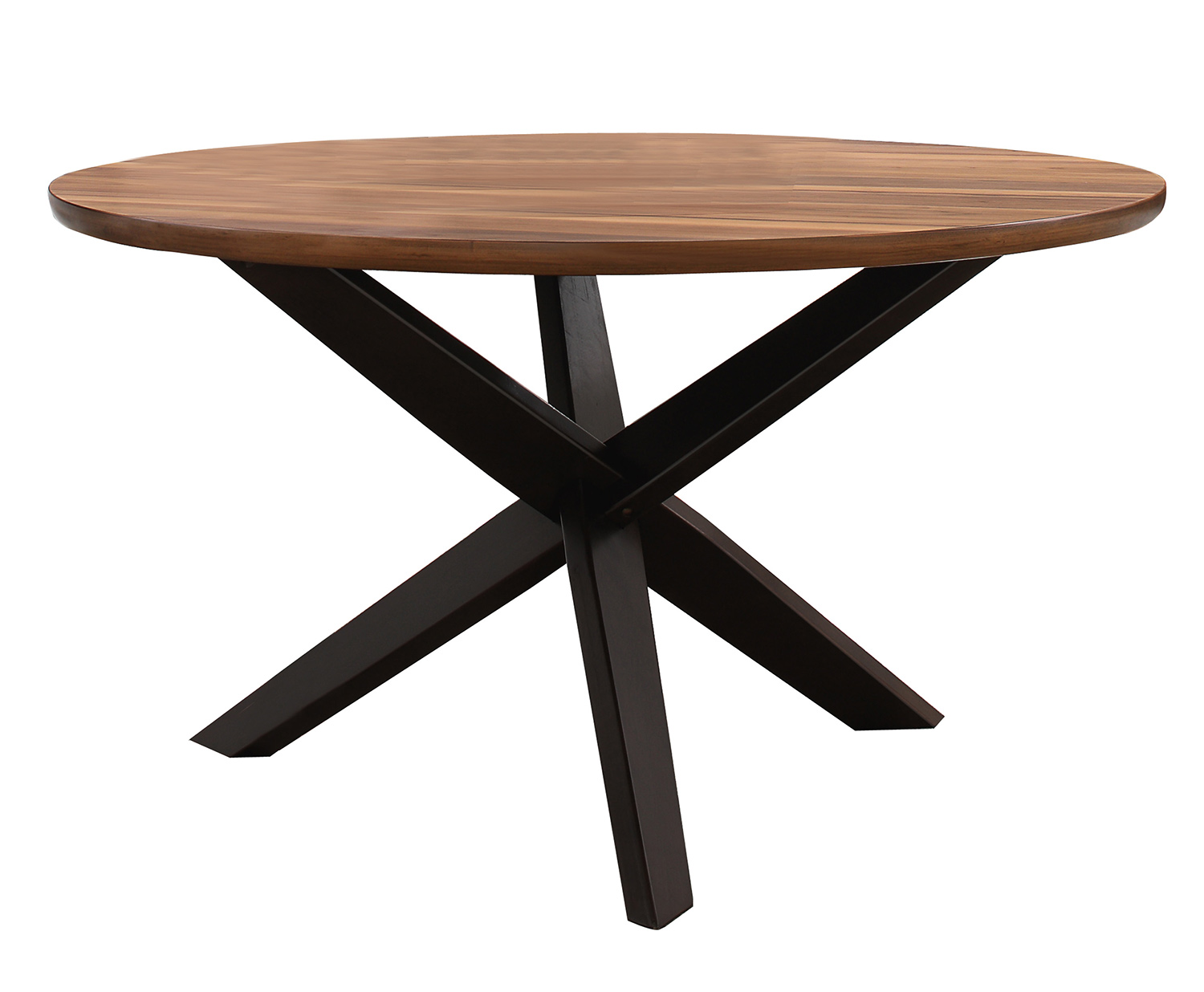 Homelegance Nelina Round Dining Table - Espresso-Natural