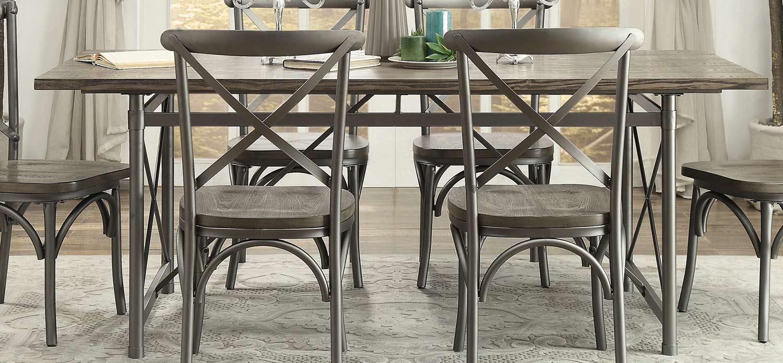 Homelegance Springer Dining Table - Weathered Gray
