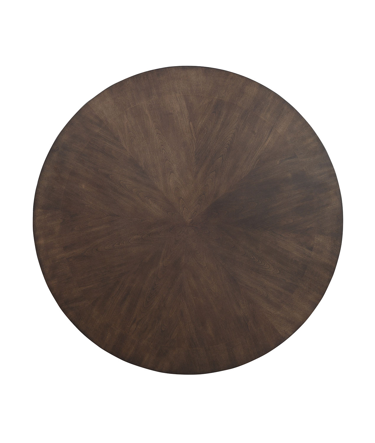 Homelegance Ante Round Dining/Game Table - Dark Brown