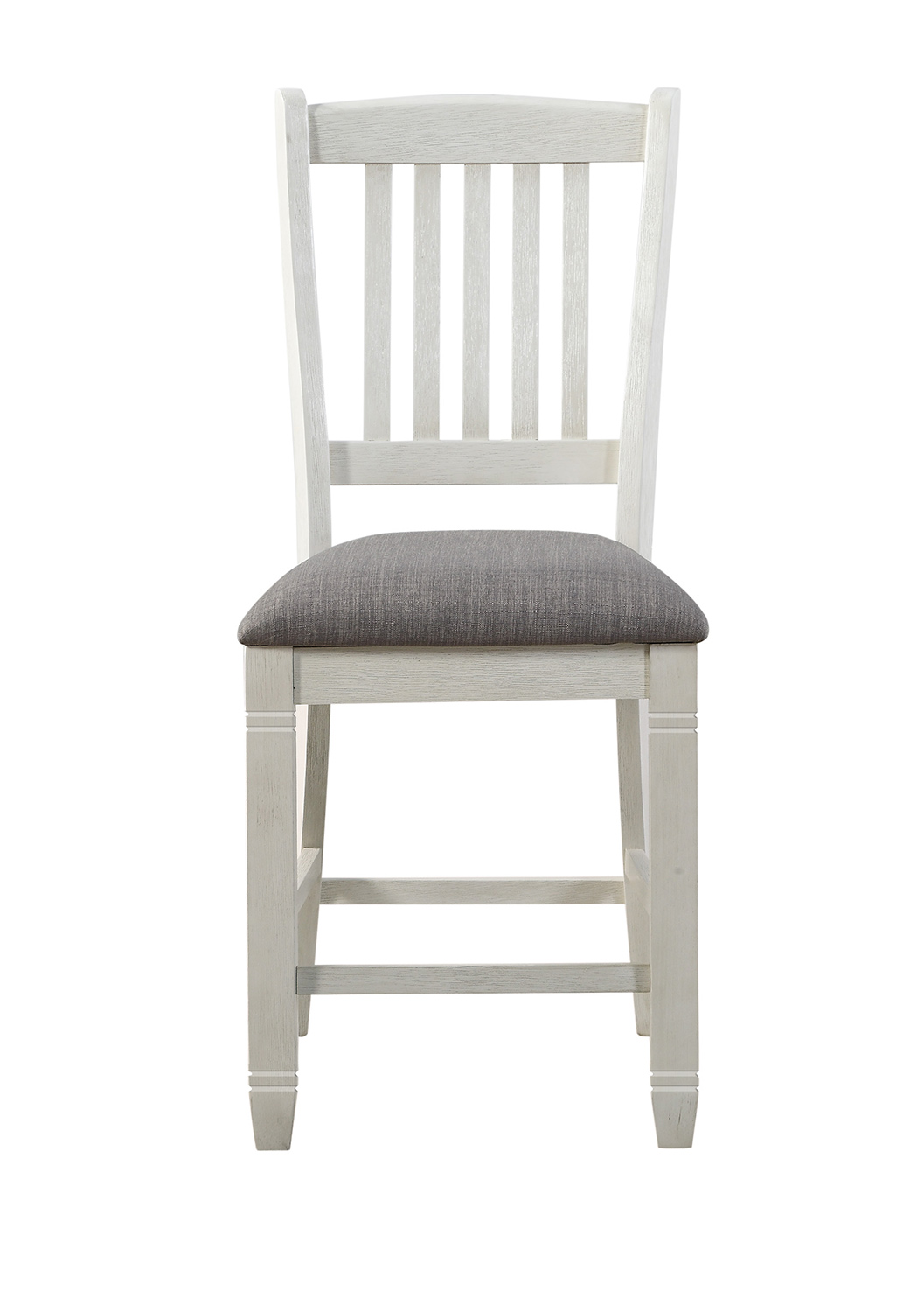 Homelegance Granby Counter Height Chair - Antique White - Rosy Brown