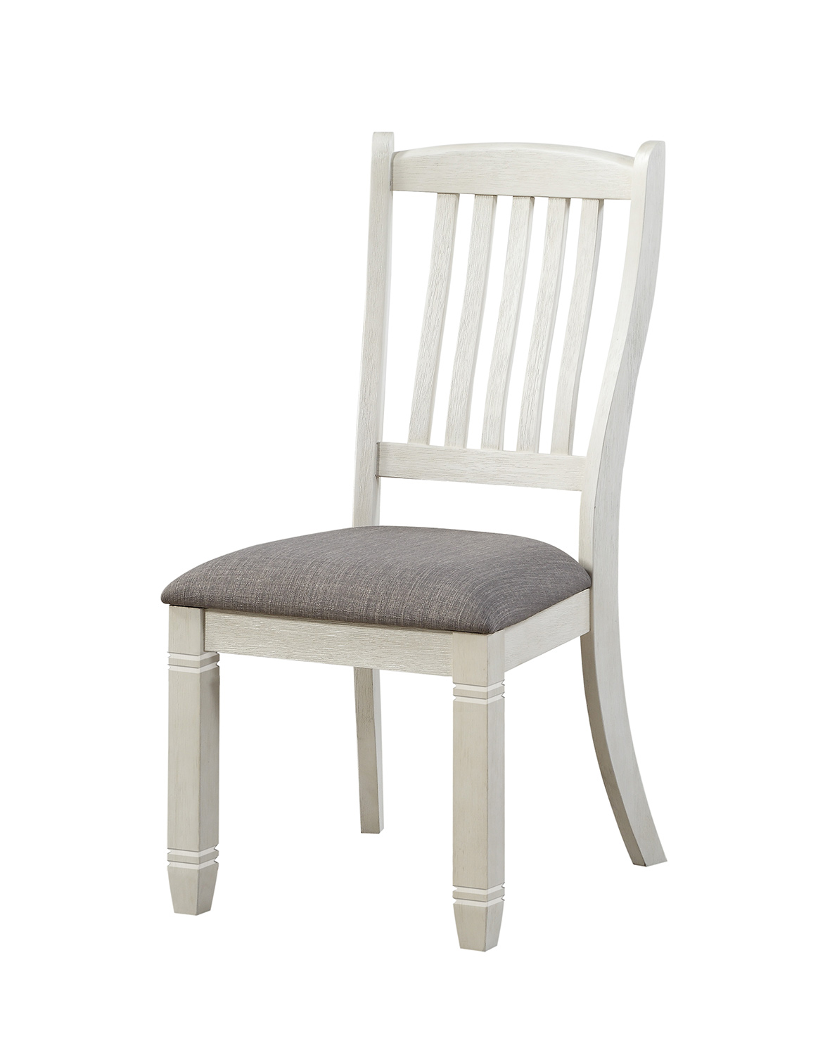 Homelegance Granby Side Chair - Antique White - Rosy Brown