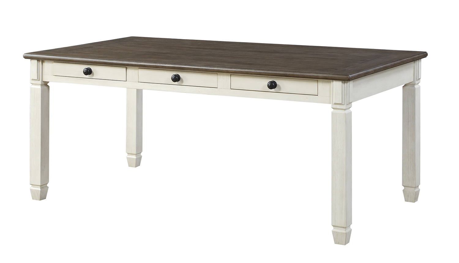 Homelegance Willow Bend Dining Table - Antique White