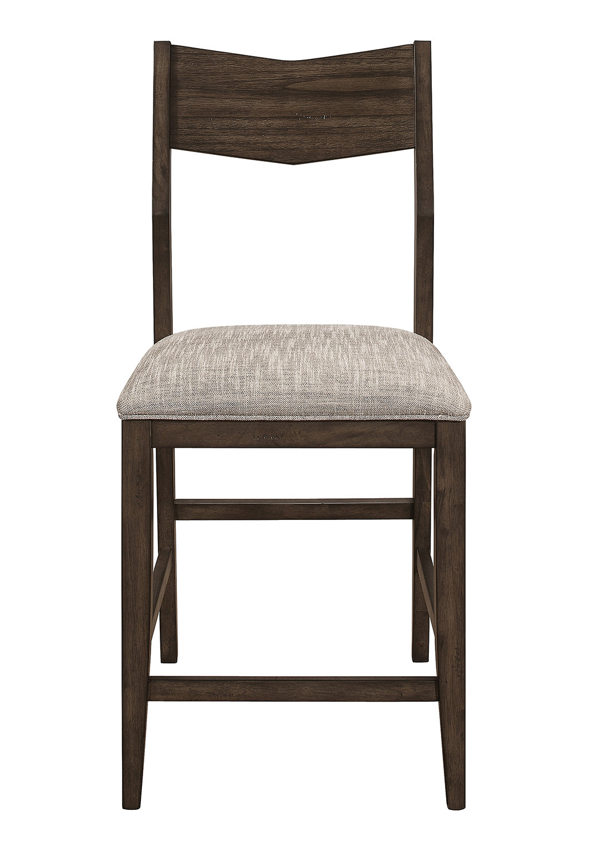 Homelegance Kirke Counter Height Chair - Brown