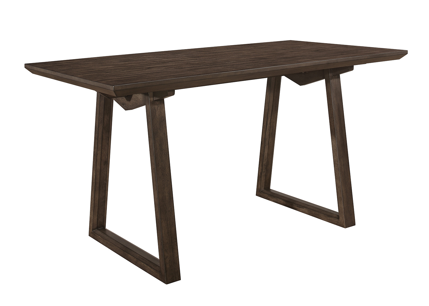 Homelegance Kirke Counter Height Dining Table - Brown