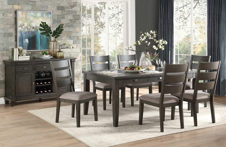 Homelegance Baresford Dining Set - Gray